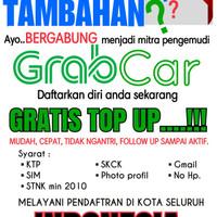 pendaftaran mitra pengemudi GrabCar