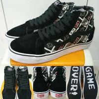Sepatu Sneakers Vans Sk8 High x Nintendo Controller Stick Premium