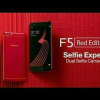HP OPPO F5 (F 5 RAM 4/32 GB) RED/MERAH LIMITED EDITION GARANSI RESMI