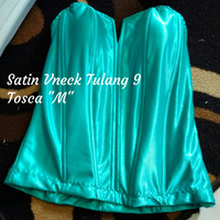 "Bustier Satin Tulang 9 ""Tosca M"" - Ready Stock Promo"