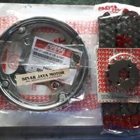 gearset / gear set megapro monoshock, verza FEDERAL FP-412P1-KYE-220C