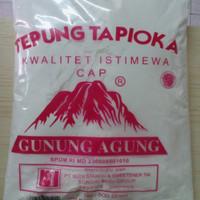 tepung tapioka gunung agung 500gr
