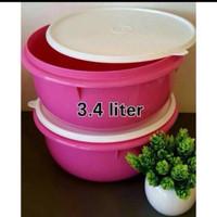 Tupperware Import Malaysia FIX n MIX BOWLS mangkok plastik pink