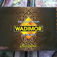 Sarung Tenun Wadimor Motif Bali Original