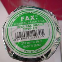 kertas fax 210x30 merek fax