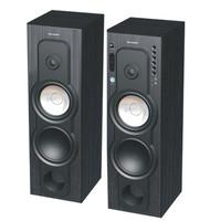 Sharp Speaker Aktif CBOX B880UBL Bluetooth Usb SD MMC Slot 8inch New