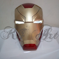 Helm Iron Man Mark 46 Open Face / Iron Man Helmet
