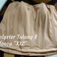 "Bustier Polyster Tulang 8 ""Mocca XXL"" - Ready Stock Promo"