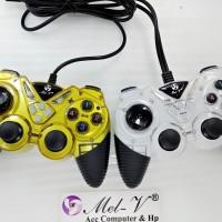 GAMEPAD JOYSTICK DOUBLE TURBO USB / STICK PC DOUBLE TURBO / DUAL SHOCK