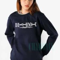 Harga jaket sweater zipper hoodie death note | Hargalu.com