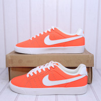 READY Nike Court Tour Skinny Leather Crimson (532364 800)