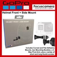 Gopro Helmet Front - Side Mount - Original Hero5 - Hero6 -Hero4 black