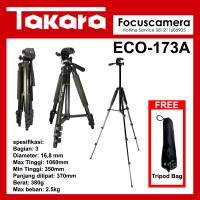 Tripod Takara ECO-173A  Handycam kamera Pocket Canon Sony Panasonic