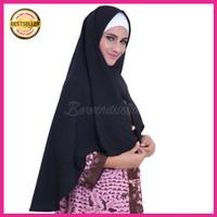 Kerudung Hijab Jilbab Simple Syari Khimar Plain Nayla Shawl Size L
