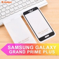 Tempered Glass SAMSUNG GALAXY GRAND PRIME PLUS Full Cover - HITAM
