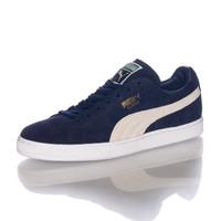 Sepatu Puma Suede Classic Trainers In Navy Blue Peacoat 35656851