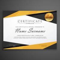 Cetak Piagam Penghargaan A4 Bahan Art Carton 310 Gram