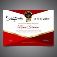 Cetak Piagam Penghargaan A4 Bahan Art Carton 230 Gram