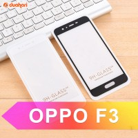 Tempered Glass OPPO F3 PLUS Full Cover Screen Protector OPPO F3 PLUS