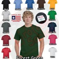Jual Kaos Polos  NSA SOFT ( New State Apparel ) persis GILDAN softstyle Murah