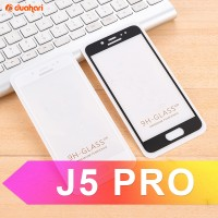 Tempered Glass Full Cover SAMSUNG J3 J5 J7 A3 A5 A7 Z4 C5 PRO 2017