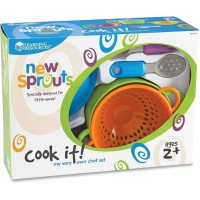 Learning Resources Cook it My Own Chef Set / Mainan Masak-Masakan