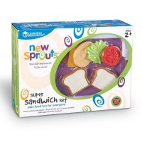 Learning Resources New Sprouts Super Sandwich Set / Mainan sandwich