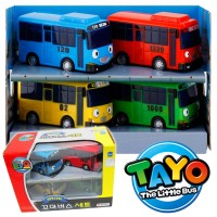 TAYO THE LITTLE BUS - 70MM MINI CARS SET (4PCS) - ORIGINAL