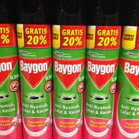 BAYGON aerosol 600 ml + 120 ml
