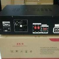 Amplifier Karaoke BETAVO ZX9 4ch Power Amply mixer Murah