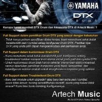 Yamaha DTX XP-80 + Snare Holder , E-Drum TCS Pad 3 Zone 8 Inc Diskon