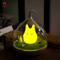 UCHII Micro Night Bedroom Lamp / Lampu Tidur Anak Cute Japan Totoro