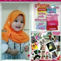 Jilbab bayi anak balita 1-2th / pashmina anak/ Pastan/pasmina XS