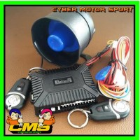 Alarm mobil Beltech model remot tombol gantungan kunci. Alarm mobil