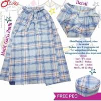 Sarung Celana Anak Instan Karakter Uje Kotak-Kotak Free Peci Baju Koko