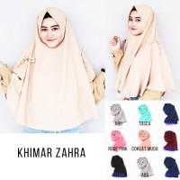 Zahra Khimar Hijab instan Jilbab Kerudung Khimar Pita Hijab Murah