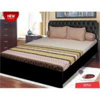 SPREI ALL NEW MY LOVE 180 T-30 SEPIA 180X200 TINGGI 30 KING SIZE NO.1