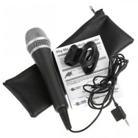 IK Multimedia iRig Mic - Handeld Condenser Mic for Smartphone and Tab