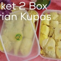 Durian Kupas - Paket 2 Box Durian Kupas