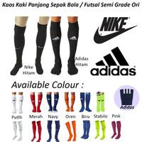 Jual kaos kaki panjang nike adidas olah raga bola futsal  semi go murah Murah