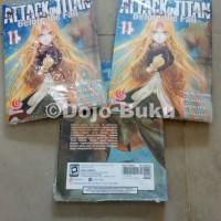 Komik Seri : Attack on Titan Before The Fall ( Hajime Isayama )