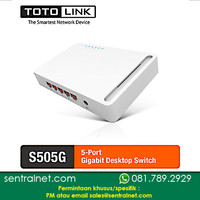 Switch TOTOLINK S505G - 5 Port Gigabit