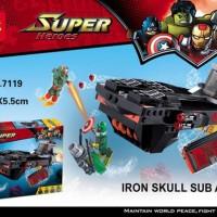 Mainan Edukasi Lego Decool 7119 Super Heroes