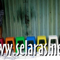 TERBATAS Kursi Baso Cafe Warung Outdoor Plastik Motif Anyaman Rotan Co