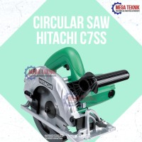 Circular Saw Circle Mesin Potong Kayu Wood Gergaji Graji Hitachi C7SS