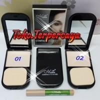 Harga menow perfect compact powder bedak padat menow dan concelaer   antitipu.com