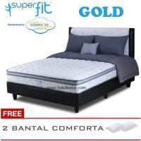 Termurah Comforta Super Fit Gold Orthopedic 180x200 Komplit Set