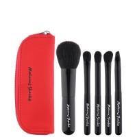 Masami Shouko Travel Brush Set - Red 5p