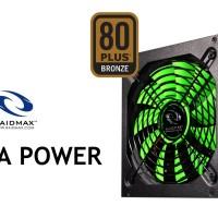 POWER SUPPLY RAIDMAX COBRA SERIES RX-500AF-B 500 WATT (80 PLUS BRONZE)