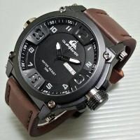 Jam Tangan Quicksilver Tali Kulit ( Ripcurl,Casio,Seiko,Rolex,Tissot )